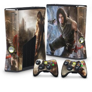 Xbox 360 Slim Skin - Prince of Persia The Forgoten Sands