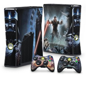 Xbox 360 Slim Skin - Star Wars The Force Unleashed
