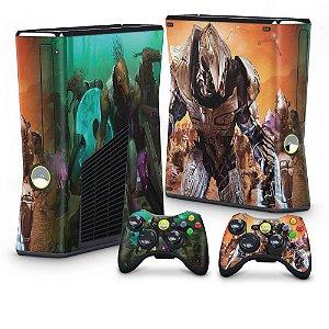 Xbox 360 Slim Skin - Halo Wars