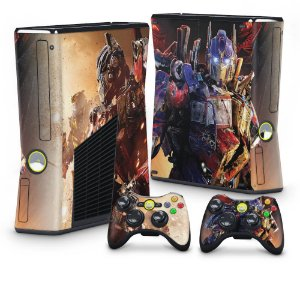 Xbox 360 Slim Skin - Transformers Revenge of the Fallen