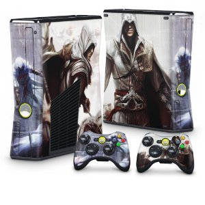 Xbox 360 Slim Skin - Assassins Creed 2