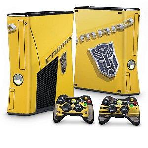 Xbox 360 Slim Skin - Transformers Camaro
