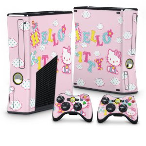 Xbox 360 Slim Skin - Hello Kitty