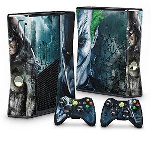 Xbox 360 Slim Skin - Batman Arkham Asylum