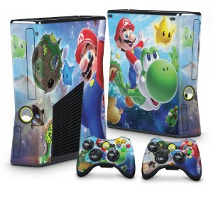 Xbox 360 Slim Skin - Super Mario