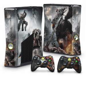 Xbox 360 Slim Skin - Darksiders Wrath of War