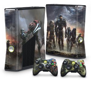 Xbox 360 Slim Skin - Halo Reach