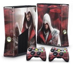 Xbox 360 Slim Skin - Assassins Creed Brotherwood #A