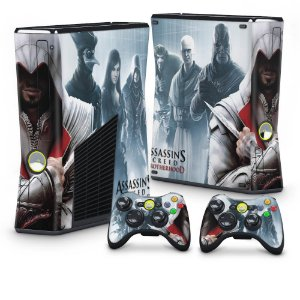 Xbox 360 Slim Skin - Assassins Creed Brotherwood #C