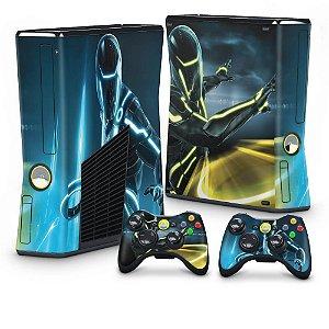 Xbox 360 Slim Skin - Tron