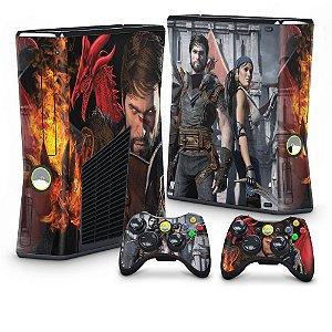 Xbox 360 Slim Skin - Dragon Age 2