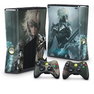 Xbox 360 Slim Skin - Metal Gear Solid Rising
