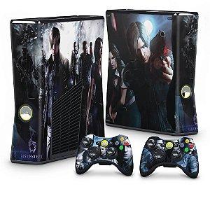 Xbox 360 Slim Skin - Resident Evil 6