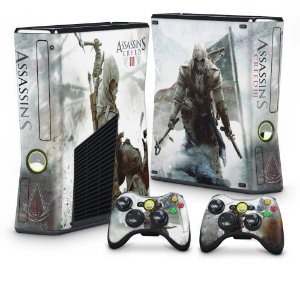 Xbox 360 Slim Skin - Assassins Creed 3