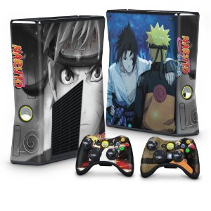 Xbox 360 Slim Skin - Naruto