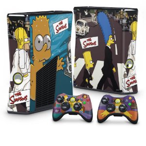 Xbox 360 Slim Skin - Simpsons