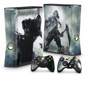 Xbox 360 Slim Skin - Darksiders 2