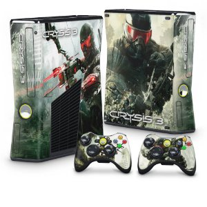 Xbox 360 Slim Skin - Crysis 3
