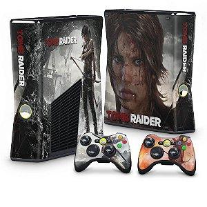 Xbox 360 Slim Skin - Tomb Raider