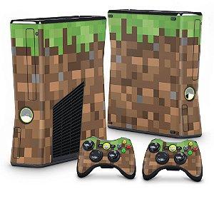 Xbox 360 Slim Skin - Minecraft