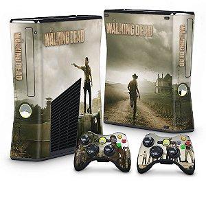 Xbox 360 Slim Skin - The Walking Dead #B
