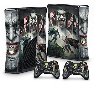 Xbox 360 Slim Skin - Injustice