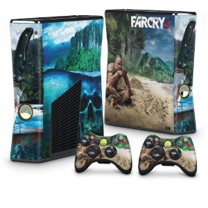 Xbox 360 Slim Skin - Far Cry 3