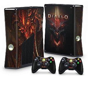 Xbox 360 Slim Skin - Diablo 3