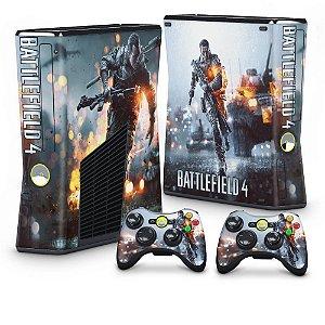 Xbox 360 Slim Skin - Battlefield 4