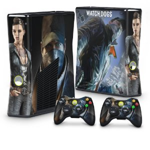 Xbox 360 Slim Skin - Watch Dogs