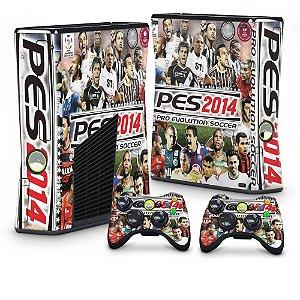 Xbox 360 Slim Skin - PES 2014