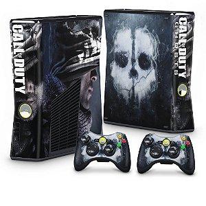 Xbox 360 Slim Skin - Call of Duty Ghosts