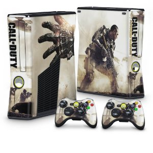 Xbox 360 Slim Skin - Call Of Duty Modern Warfare