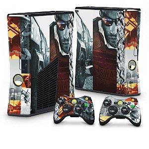 Xbox 360 Slim Skin - Battlefield Hardline