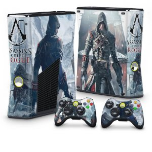 Xbox 360 Slim Skin - Assassins Creed Rogue