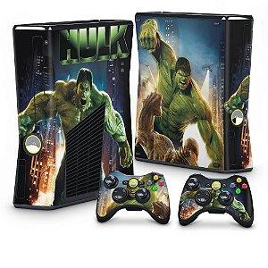 Xbox 360 Slim Skin - Hulk