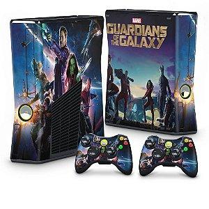 Xbox 360 Slim Skin - Guardiões da Galaxia