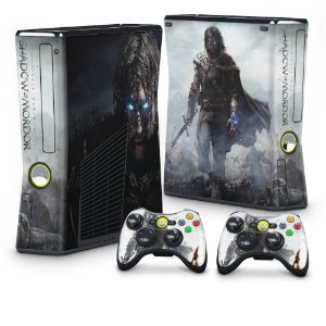 Xbox 360 Slim Skin - Middle Earth: Shadow of Mordor