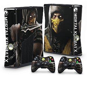 Xbox 360 Slim Skin - Mortal Kombat X Scorpion