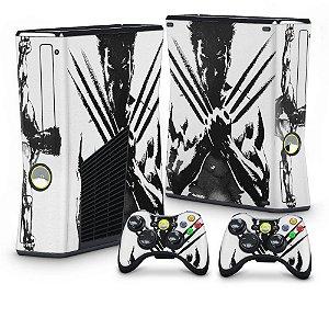 Xbox 360 Slim Skin - Wolverine X-men