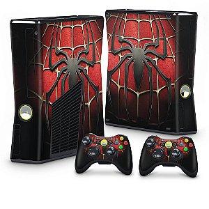 Xbox 360 Slim Skin - Spiderman Homem-Aranha #B