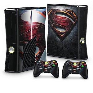 Xbox 360 Slim Skin - Superman - Man of Steel