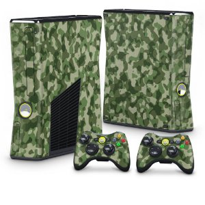 Xbox 360 Slim Skin - Camuflado