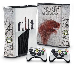 Xbox 360 Slim Skin - Game of Thrones #A