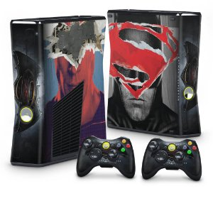 Xbox 360 Slim Skin - Batman vs Superman