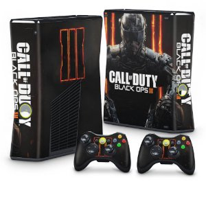 Xbox 360 Slim Skin - Call of Duty: Black Ops 3