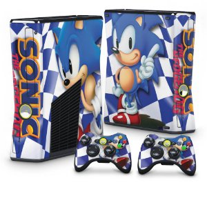 Xbox 360 Slim Skin - Sonic The Hedgehog