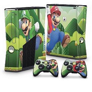Xbox 360 Slim Skin - Mario & Luigi