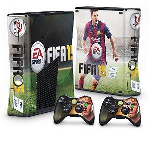 Xbox 360 Slim Skin - FIFA 15
