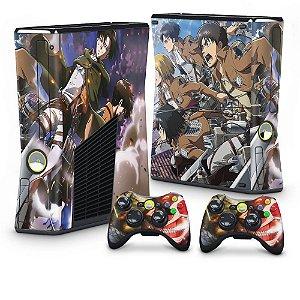 Xbox 360 Slim Skin - Attack on Titan #A
